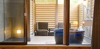客房(36㎡~):2楼、3楼 『森林露天浴池』
