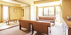日式與西式混合型套房: 3~8樓