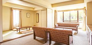 日式與西式混合型套房