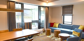 ASAMA VIEW 2 Bed Suite Room